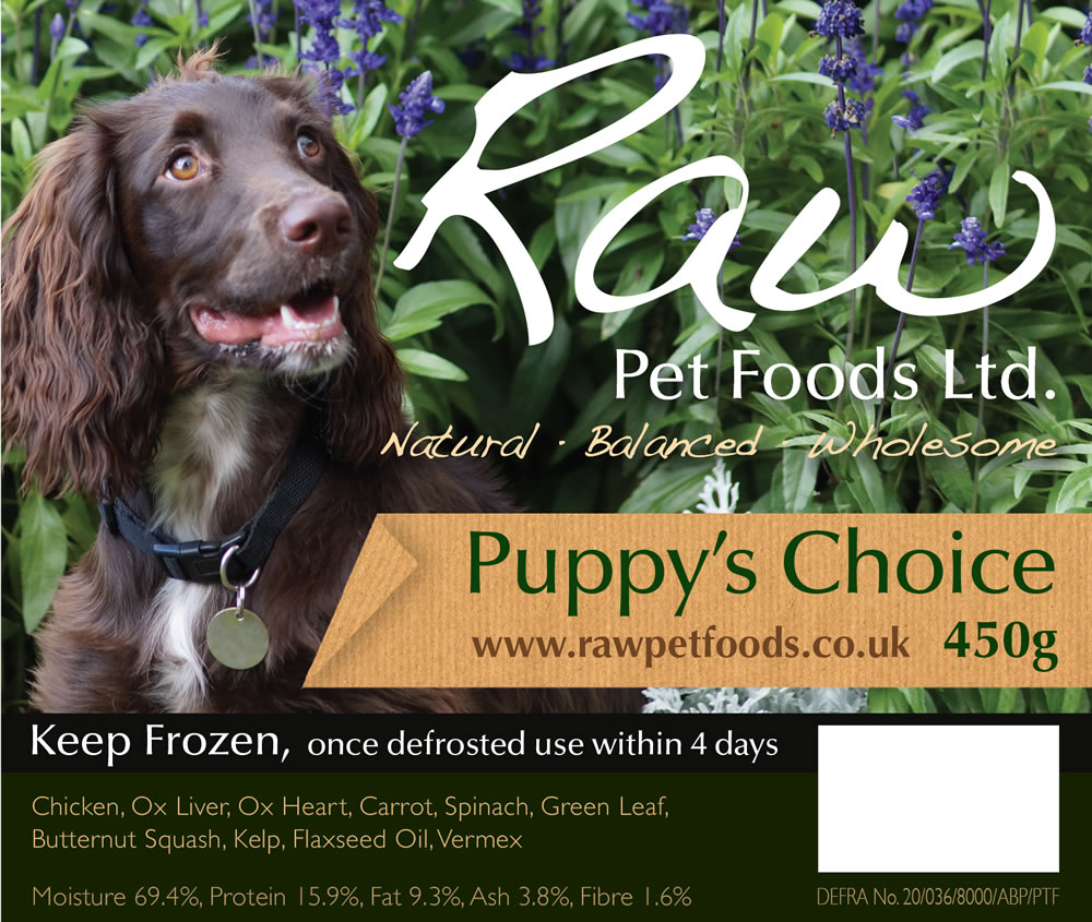 Puppy's Choice 450g